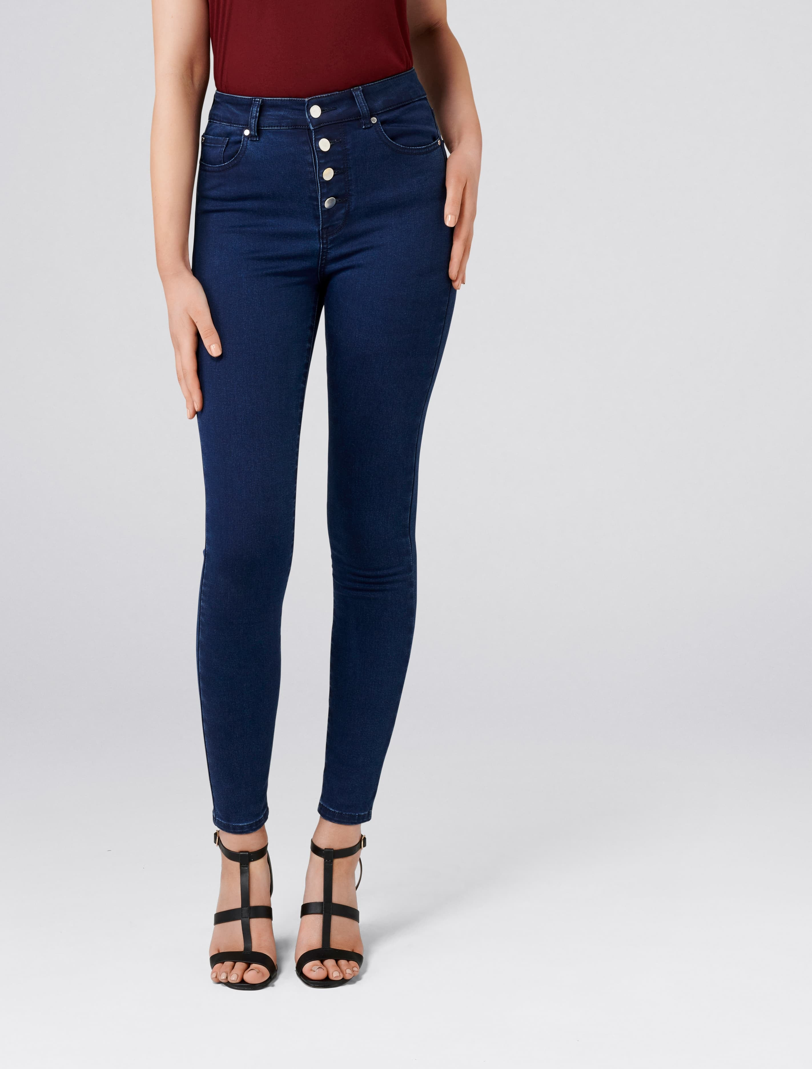 Ever New Heidi High Rise Ankle Grazer Jeans