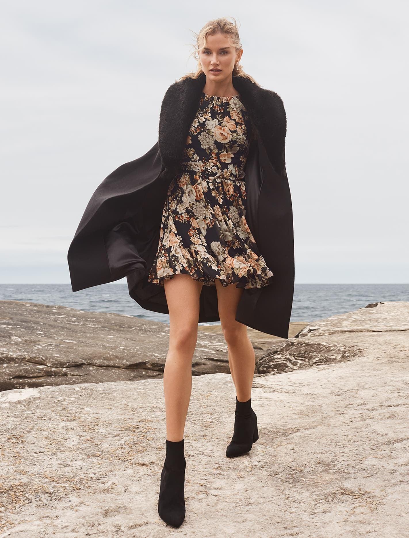 Ever New Eve Maxi Coat - Black