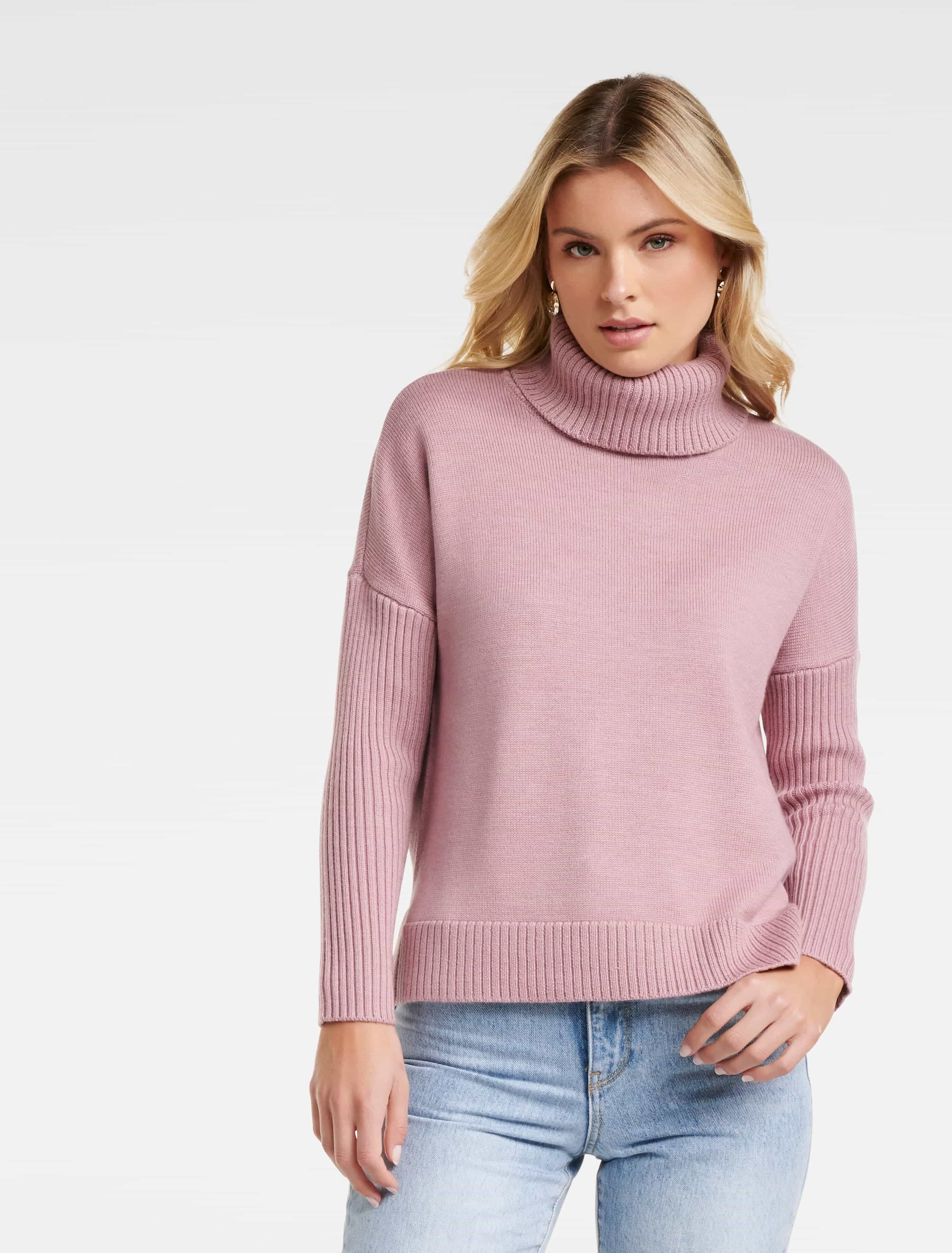 Ever New Bianca Roll Neck Wool Sweater