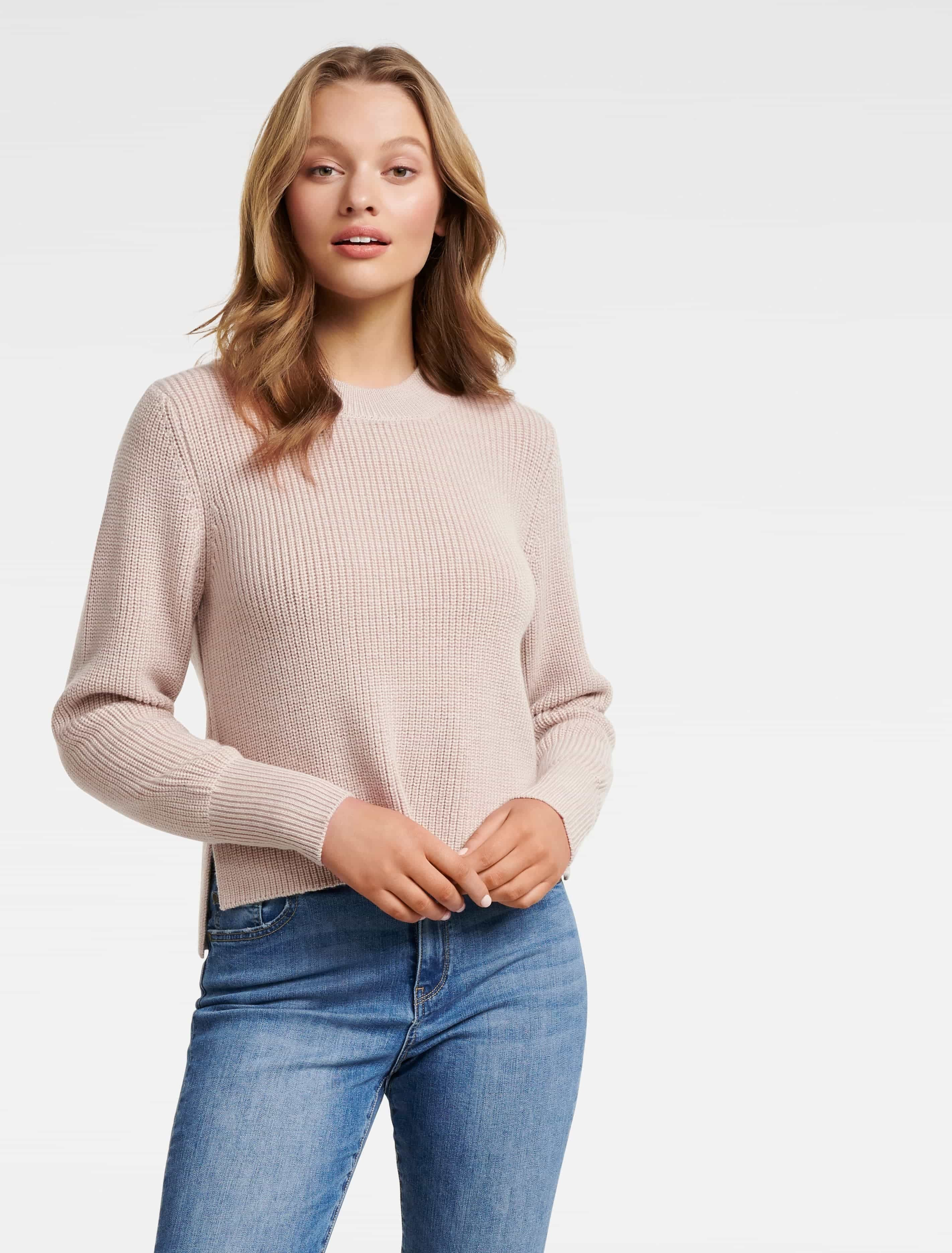 Ever New Sharnie Ribbed Wool Sweater