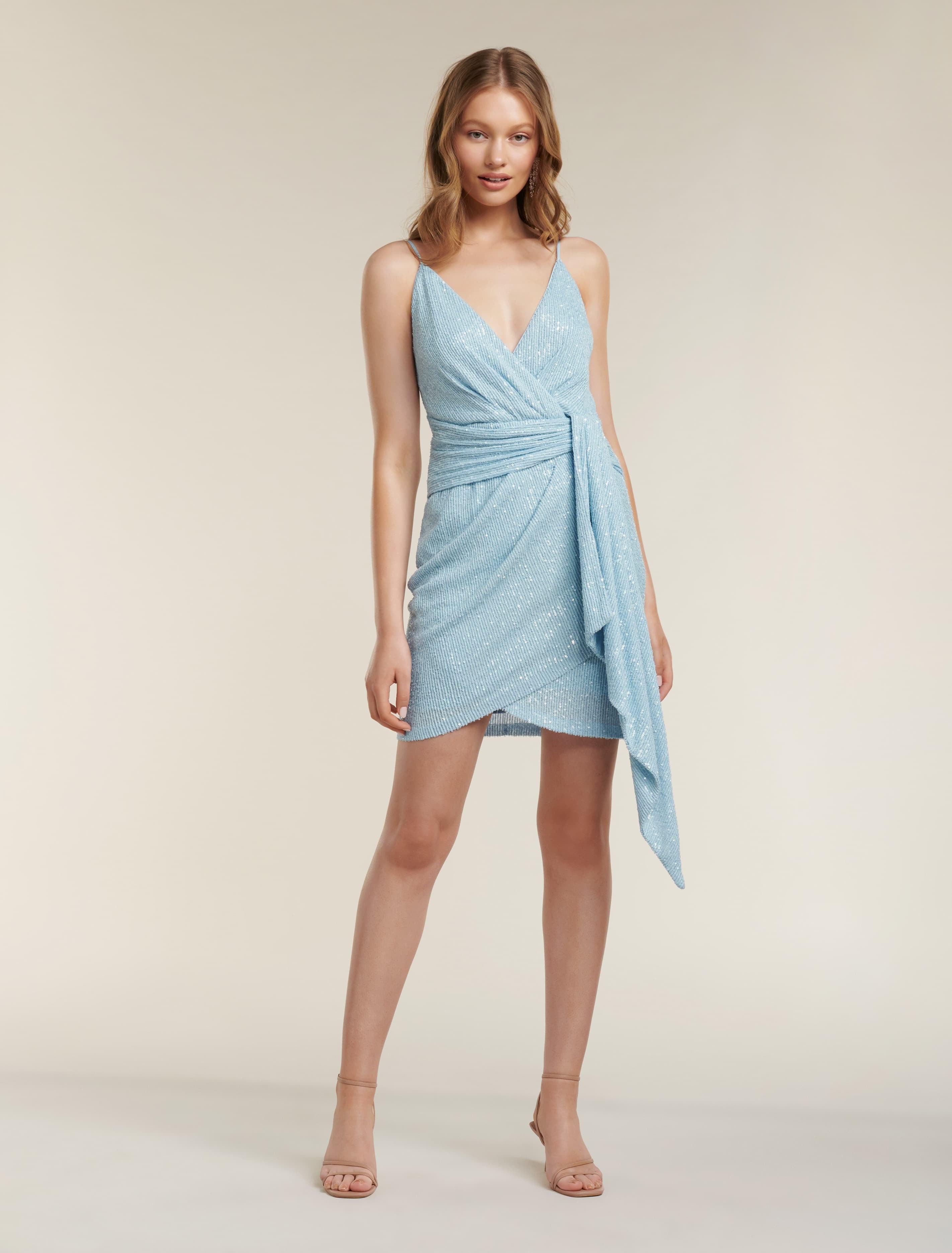 Ever New Catalina Sequin Mini Dress