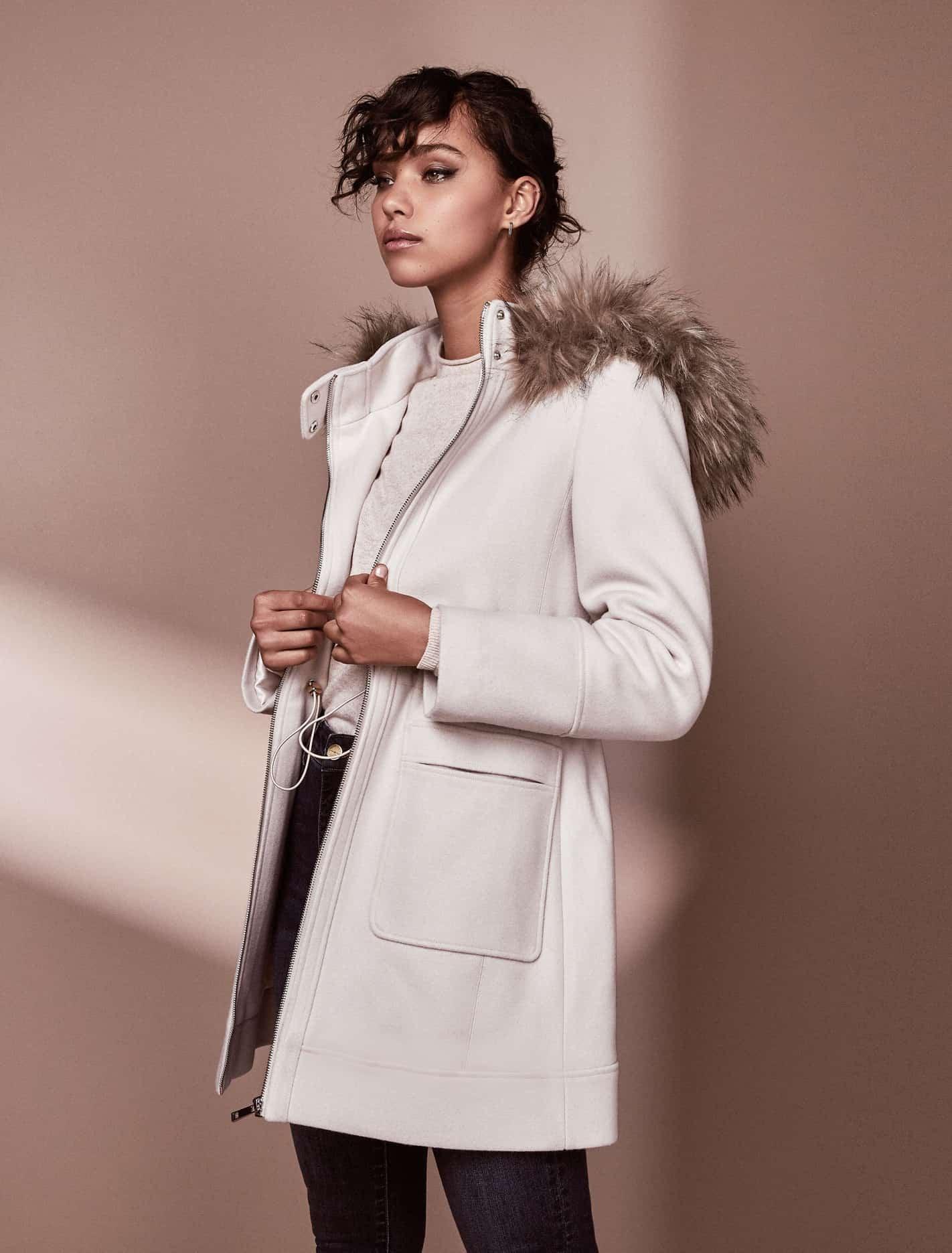 Ever New Fran coat - Cream