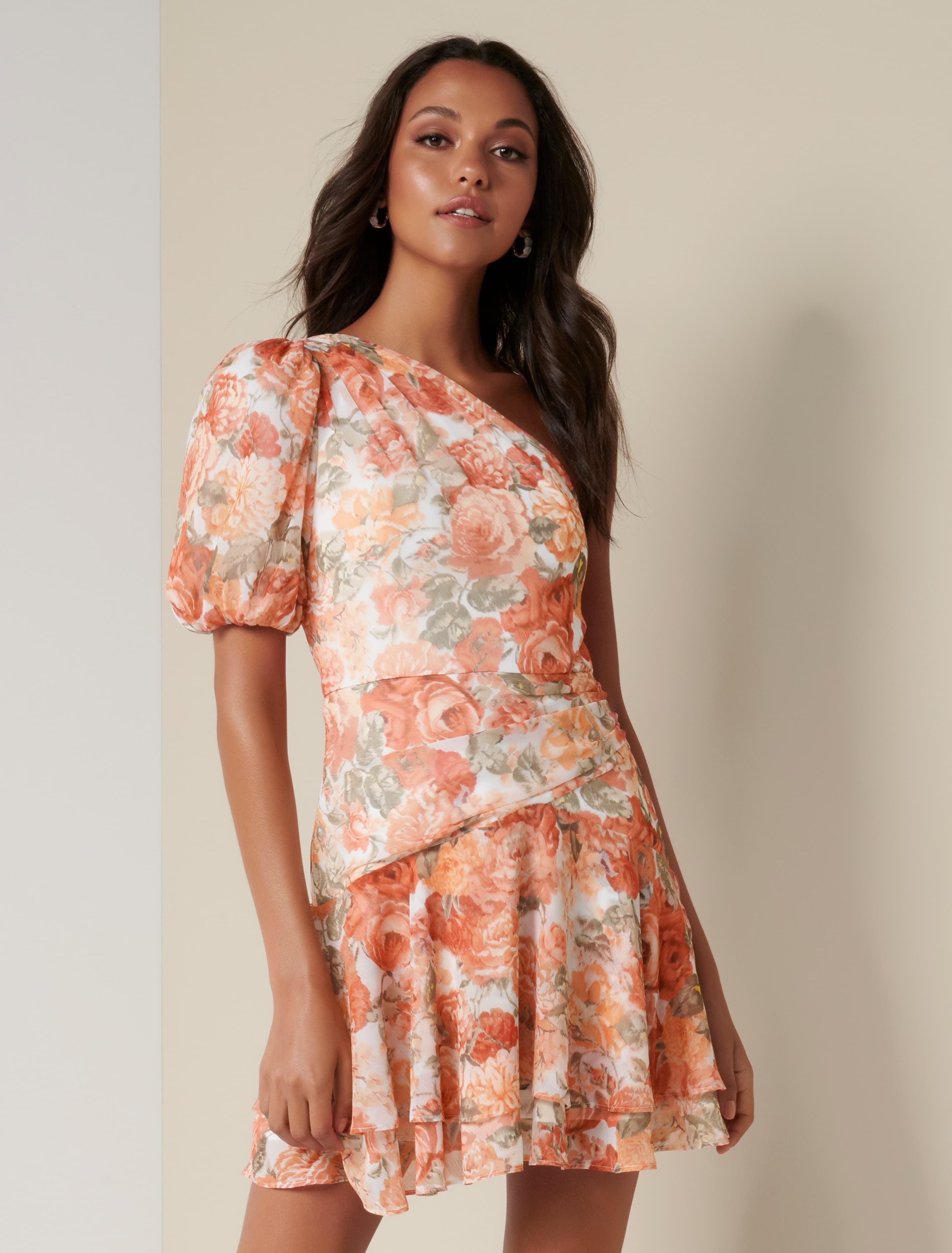 Ever New Matilda One Sleeve Mini Dress