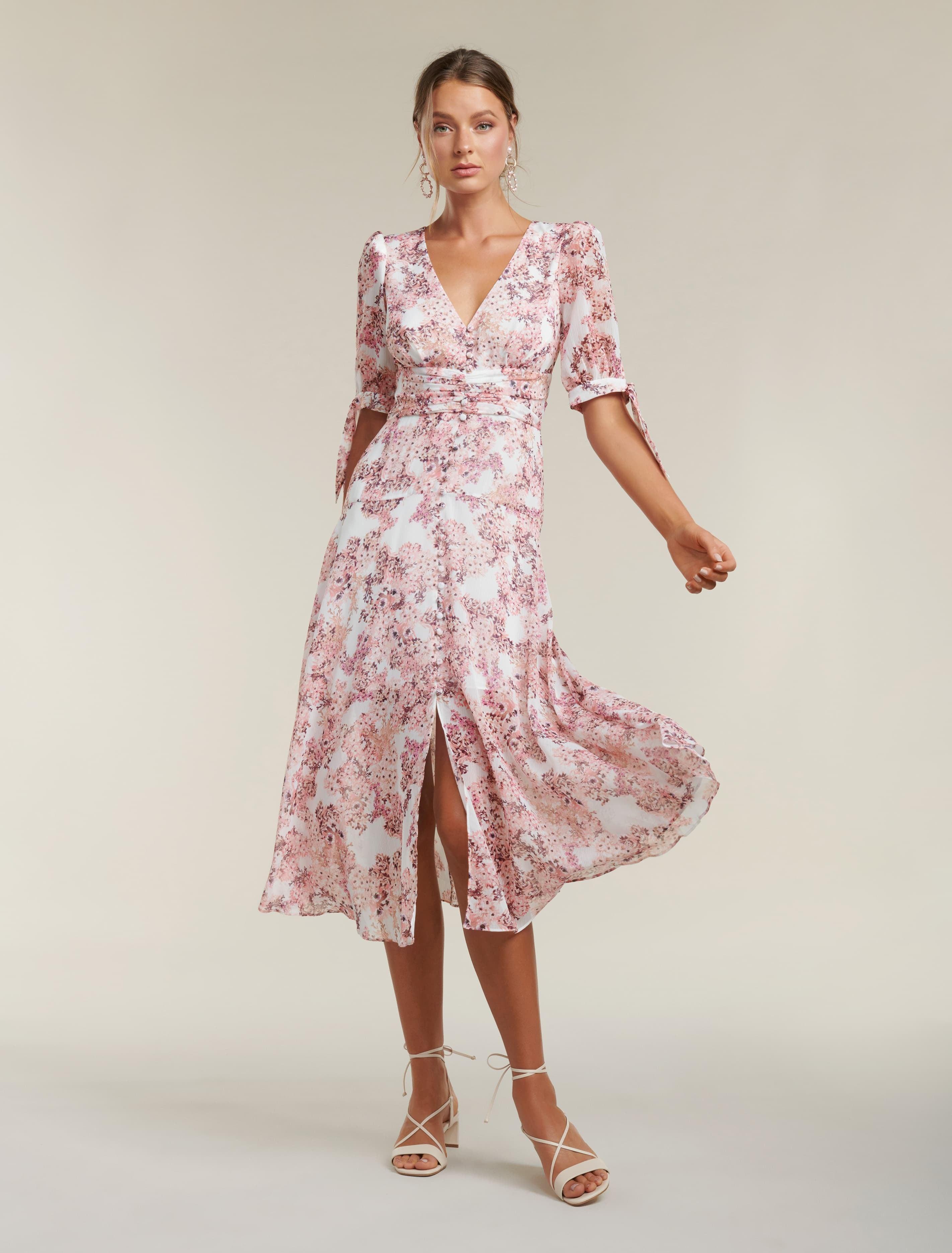 Ever New Sadie Tie Detail Maxi Dress