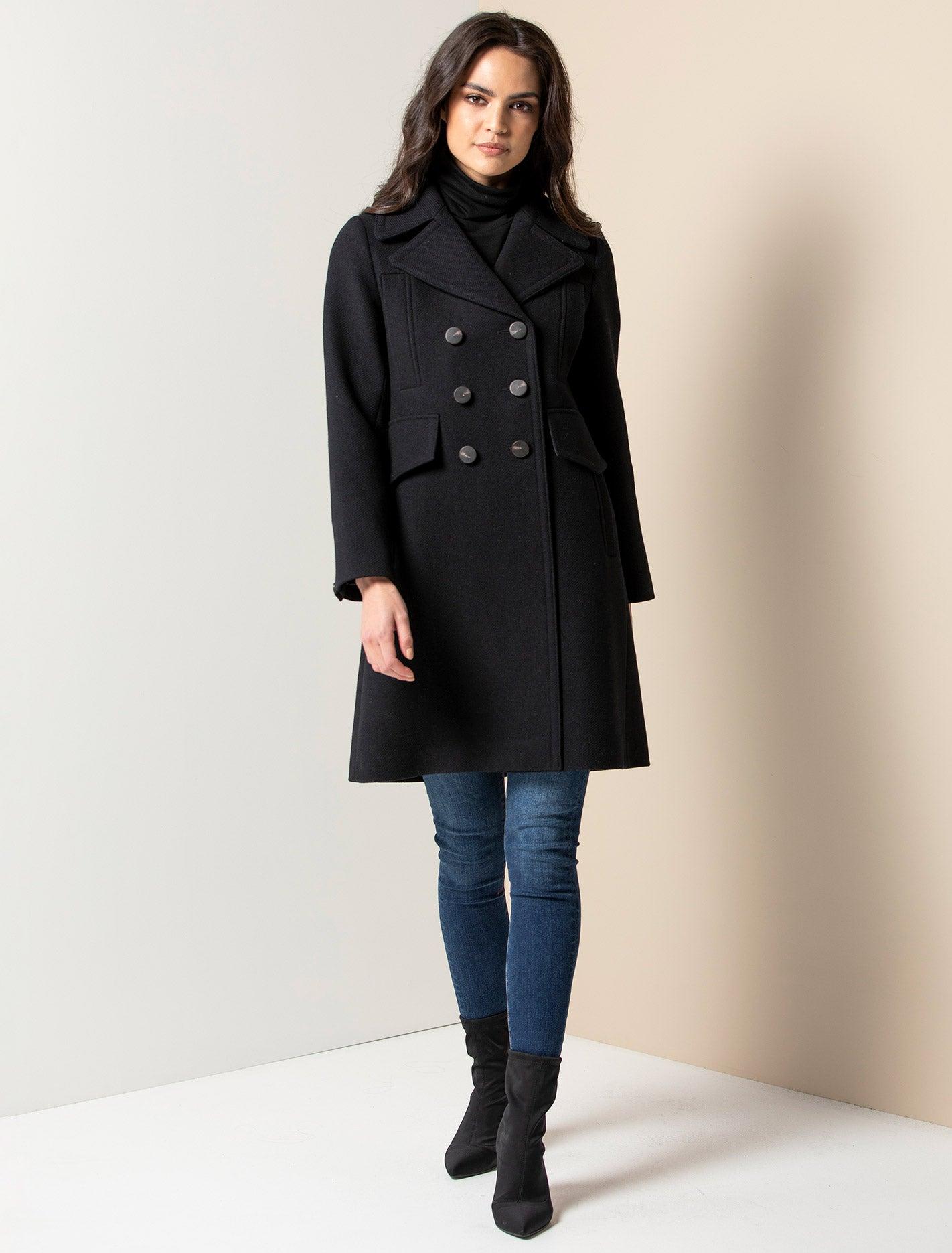 Ever New Alessandra coat - Navy