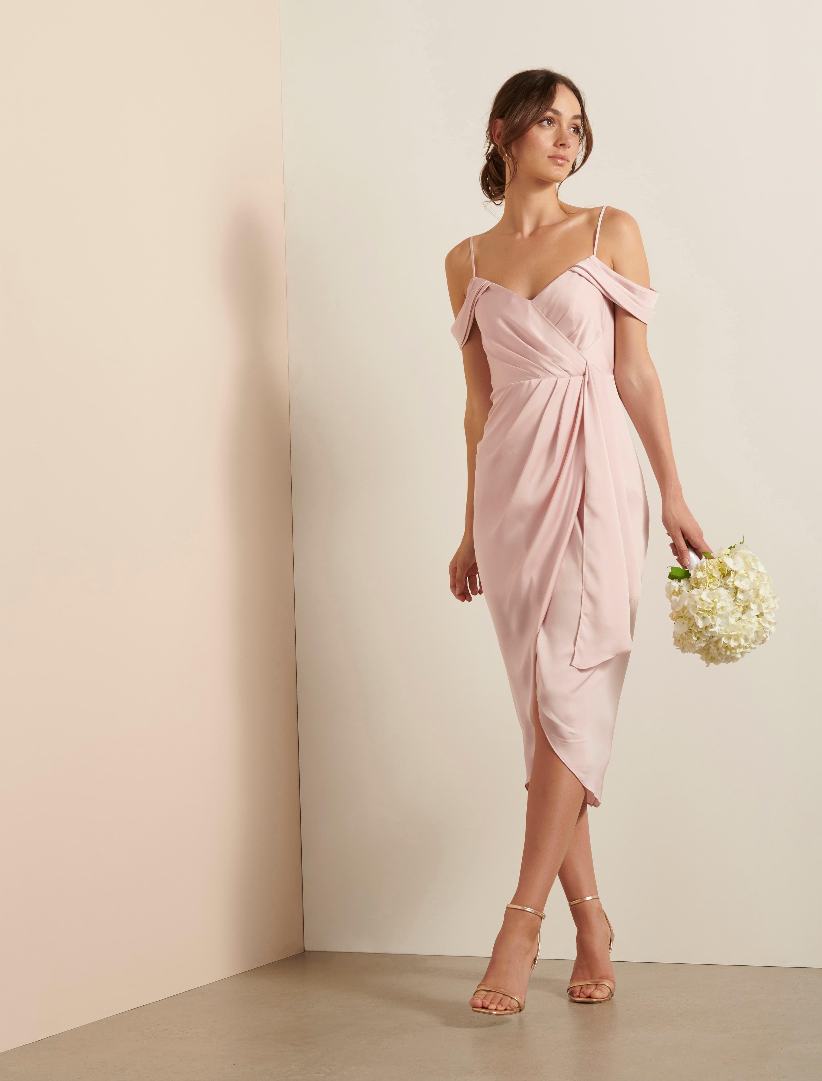 Ever New Hadley Waterfall Midi Dress