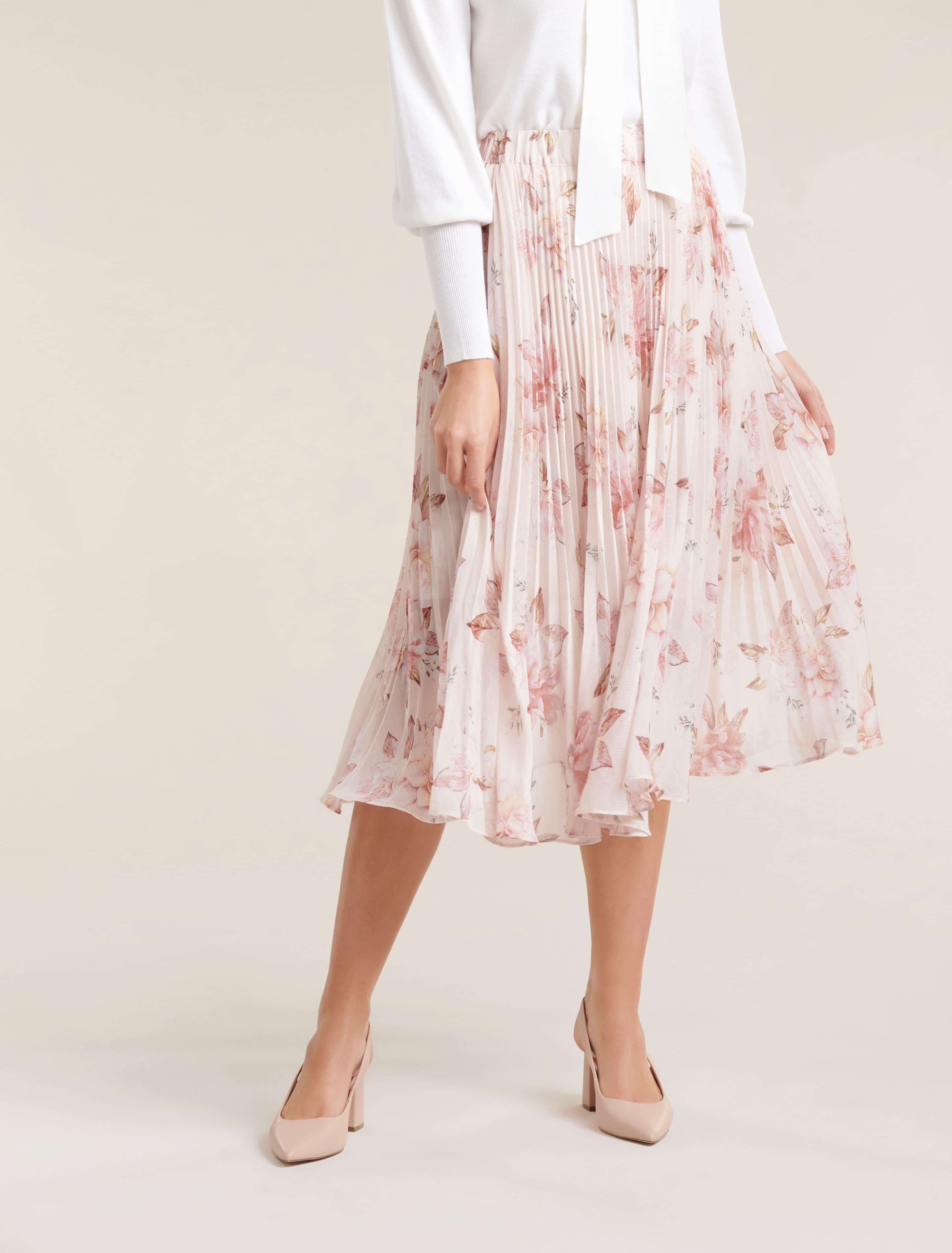 Ever New Lea Pleated Skirt