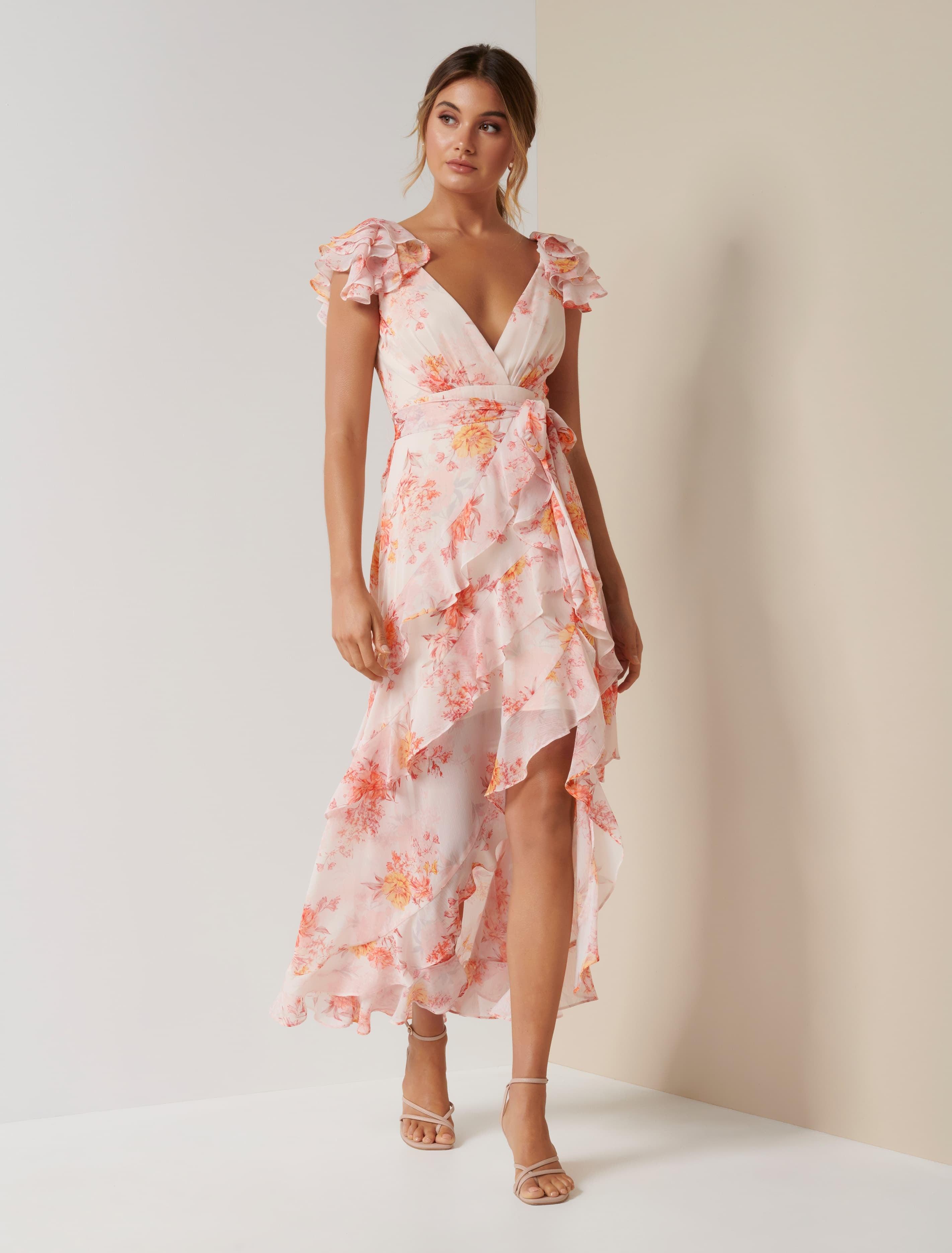 Ever New Ellery Frill Maxi Dress