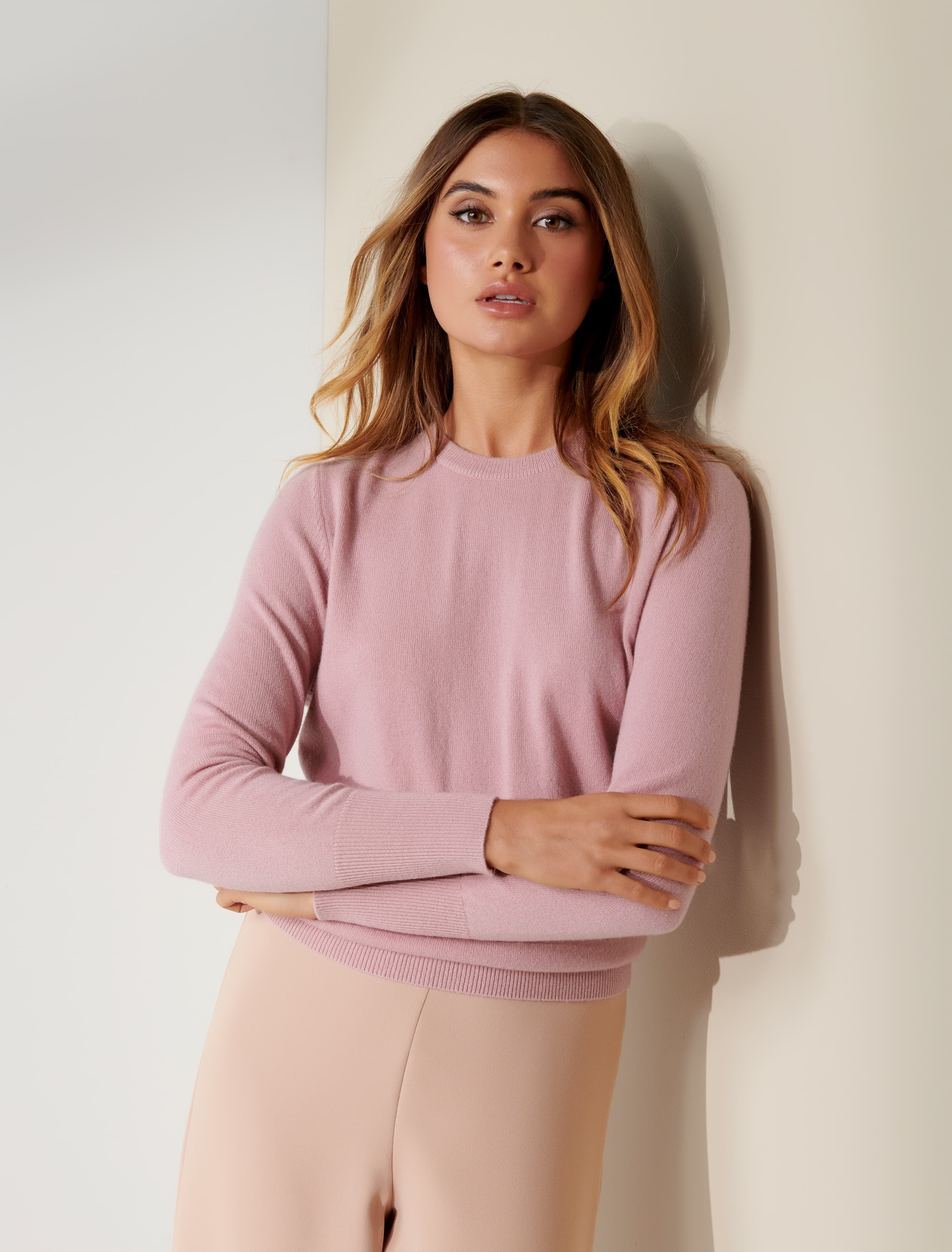 Ever New Sonia Cashmere Jumper - Soft Pink