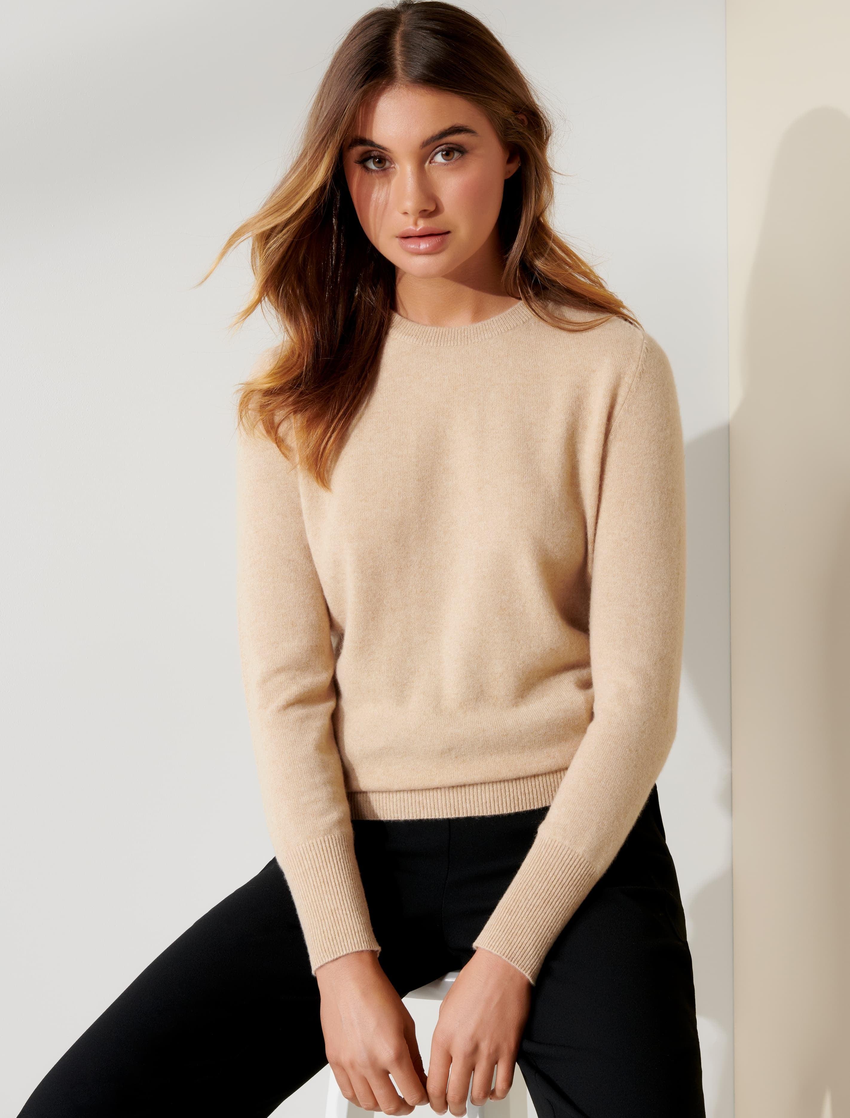 Ever New Sonia Cashmere Jumper - Soft Camel