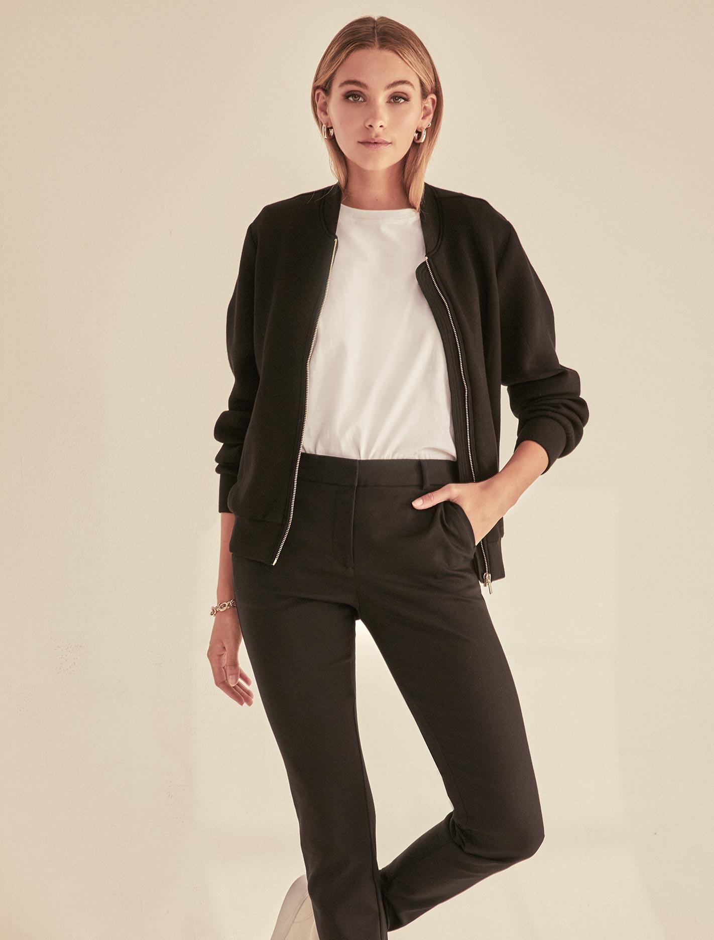 Ever New Lisa Bomber Jacket - Black