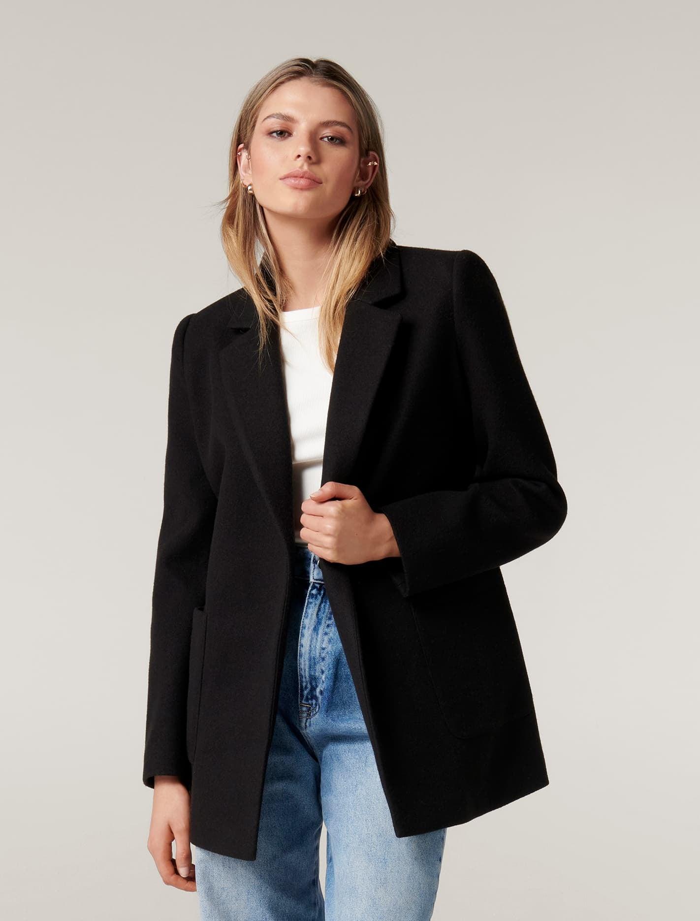 Ever New Laura Wrap Jacket - Black
