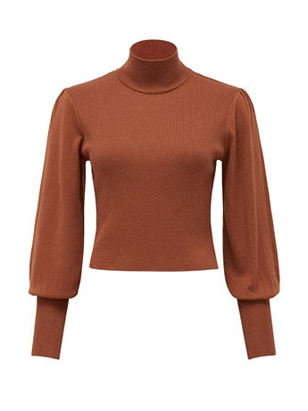 Flora Blouson Sleeve Sweater