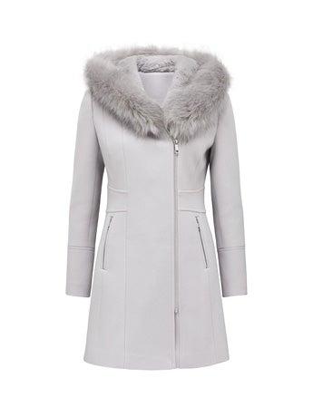 Prue Petite Hooded Coat
