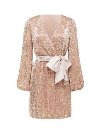 Di Sequin Mini Dress