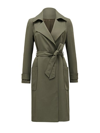 Hannah Soft Trench Coat