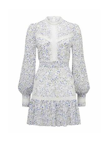 Maddison Trim Splice Dress