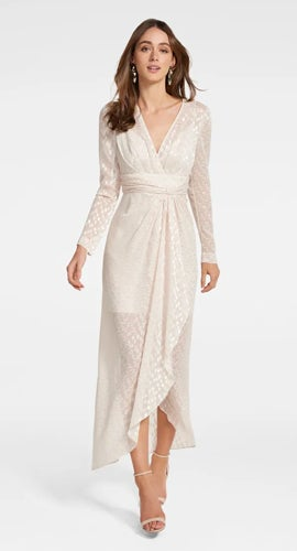 Winona<br>Metallic Dress