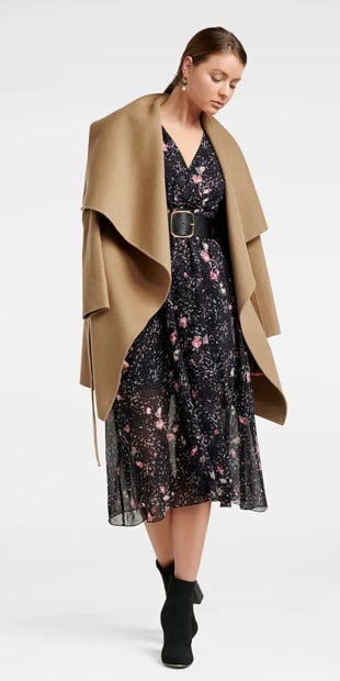 Pearl Wrap Coat