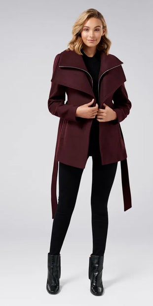 April Cropped Coat