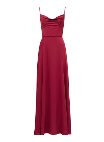 Crista Cowl Neck Maxi Dress