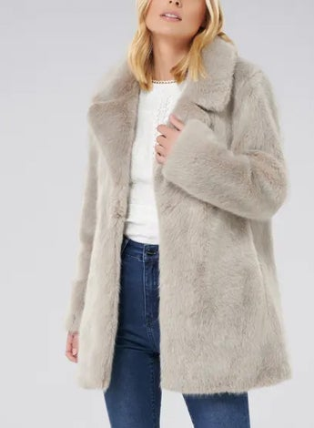 Lilly Faux Fur Coat