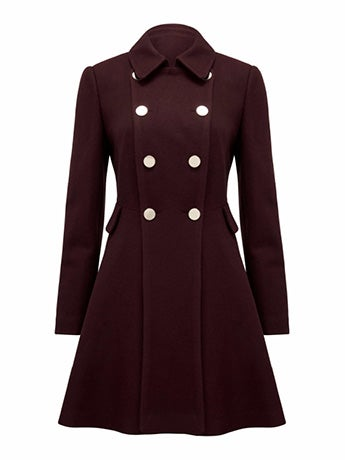 Louise Fit and Flare Coat