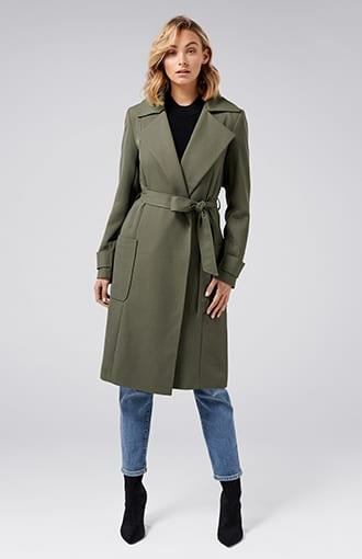 <b>Hannah</b><br />Soft Trench Coat
