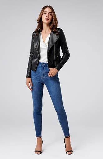 <b>Nina</b><br />Collarless Jacket