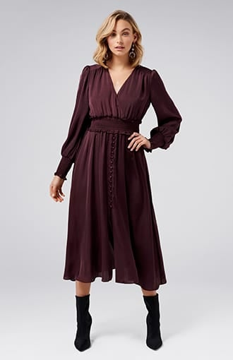 <b>Evie</b><br />Midi Dress