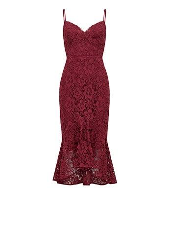 Peta Lace Midi Dress