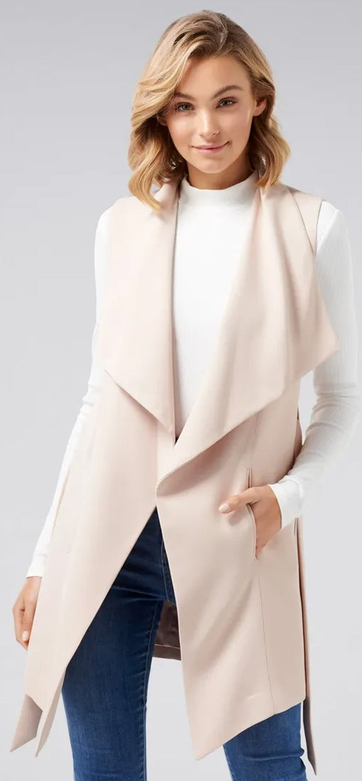 Alice Sleeveless Waterfall Jacket