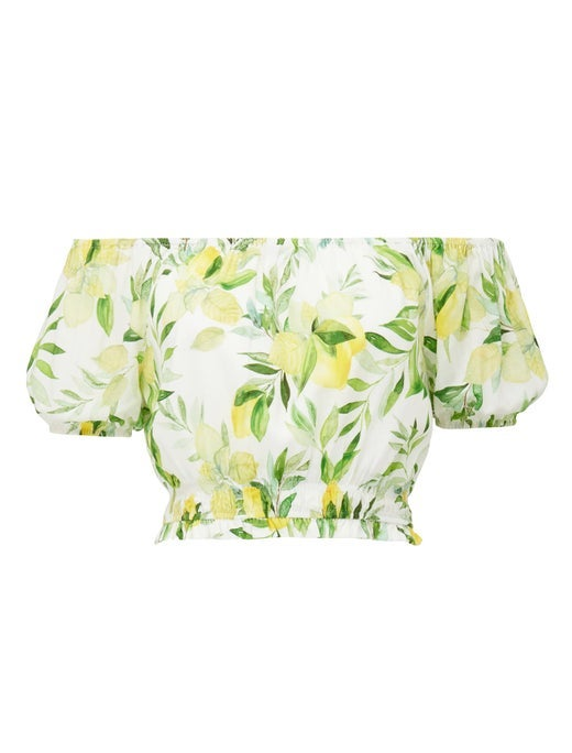 Eliza Off-Shoulder Co-ord Top