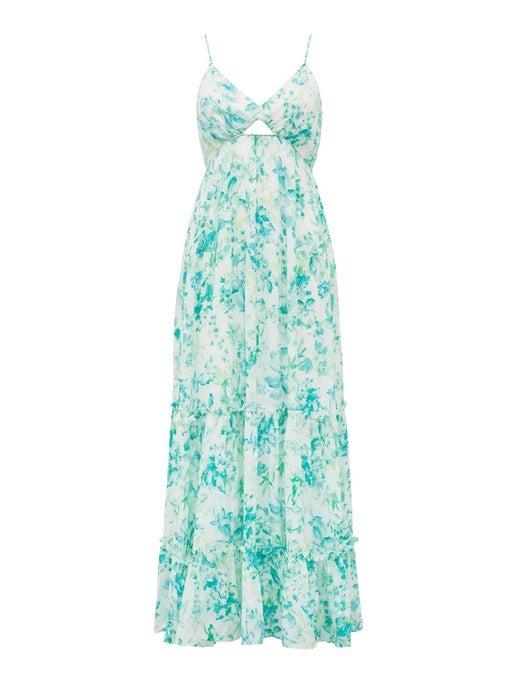 Nina Tiered Maxi Dress