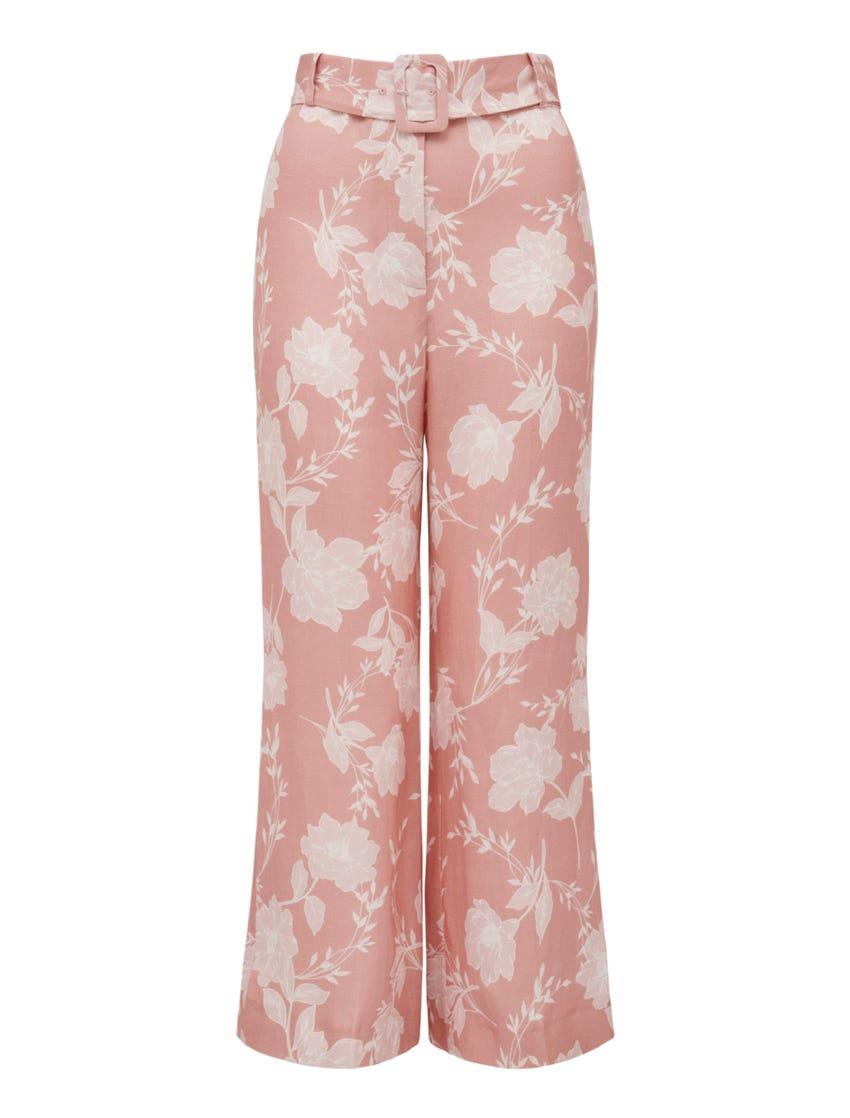 Amara Linen-Blend Pant