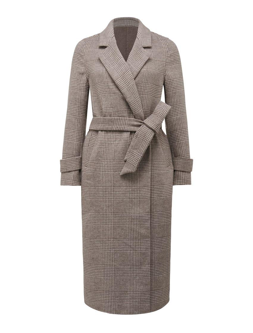 Bella Check Coat