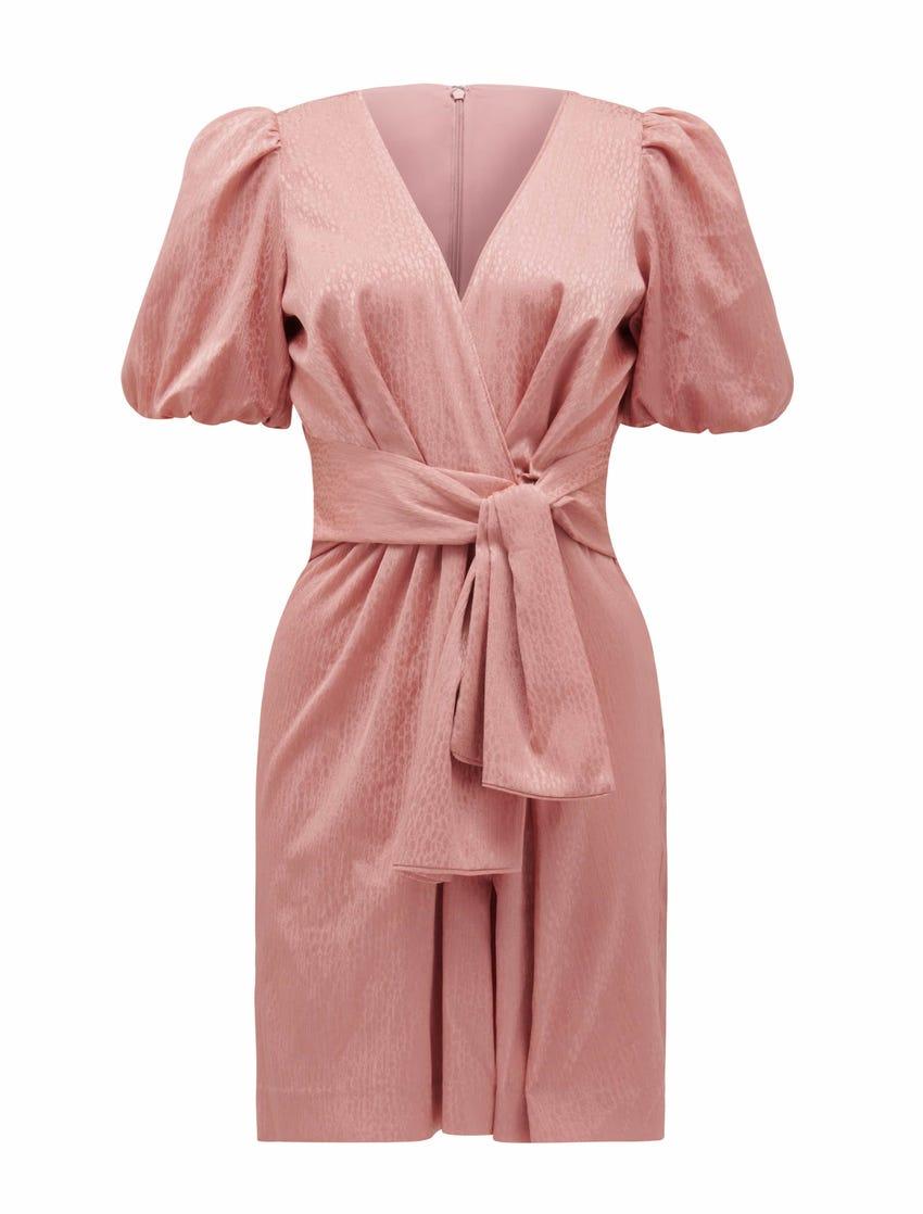 Ellie Jacquard Mini Dress