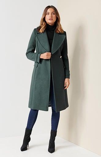 Stella Long Wrap Coat