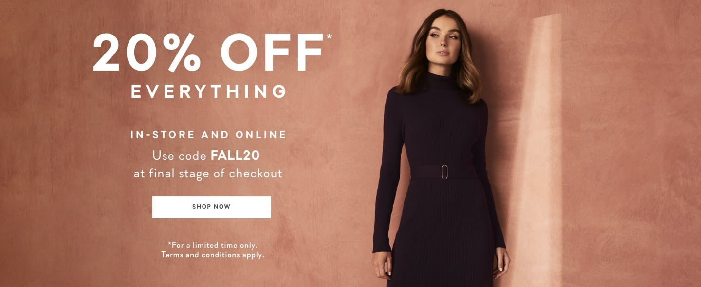 Ever New 20% off Everything