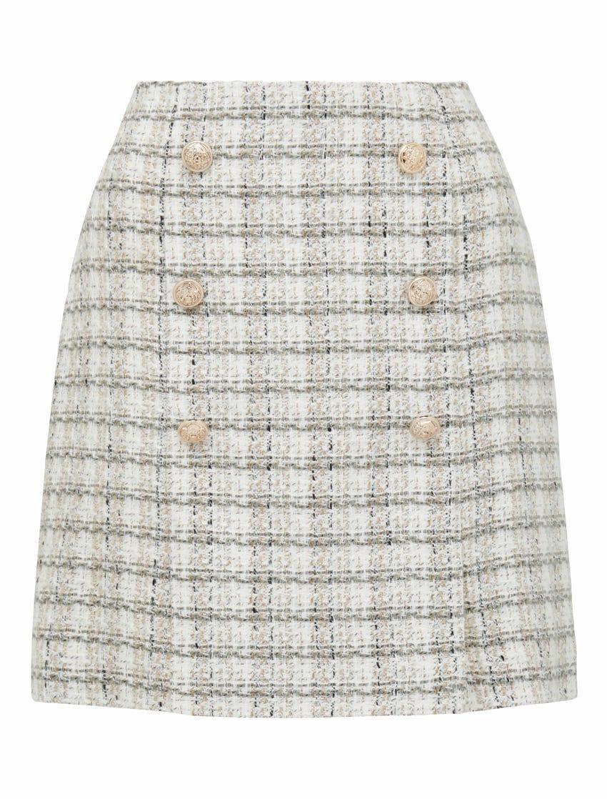 Jackson Boucle Mini Skirt