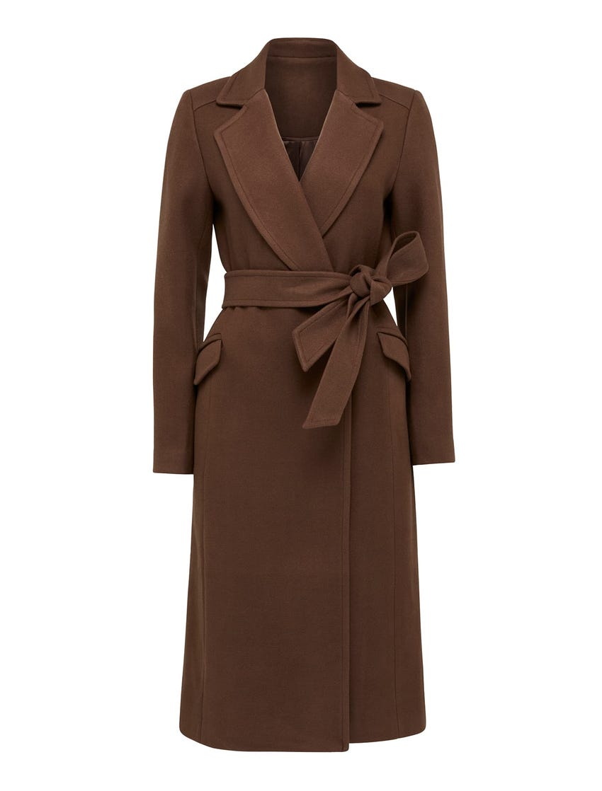 Lara Maxi Wrap Coat
