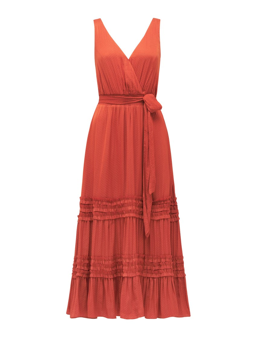 Madeline Tiered Ruffle Dress