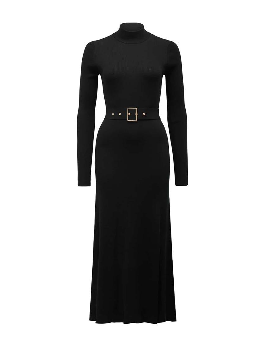 Maven Long-Sleeve Knit Dress