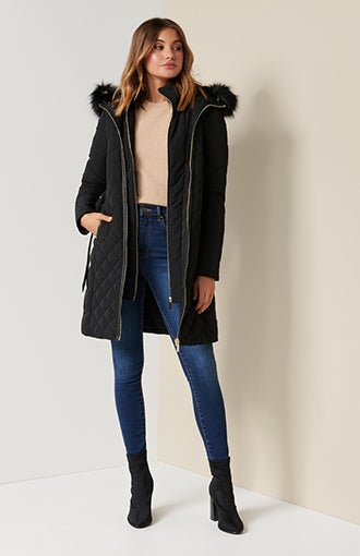 Sally Quilted Puffer Jacket