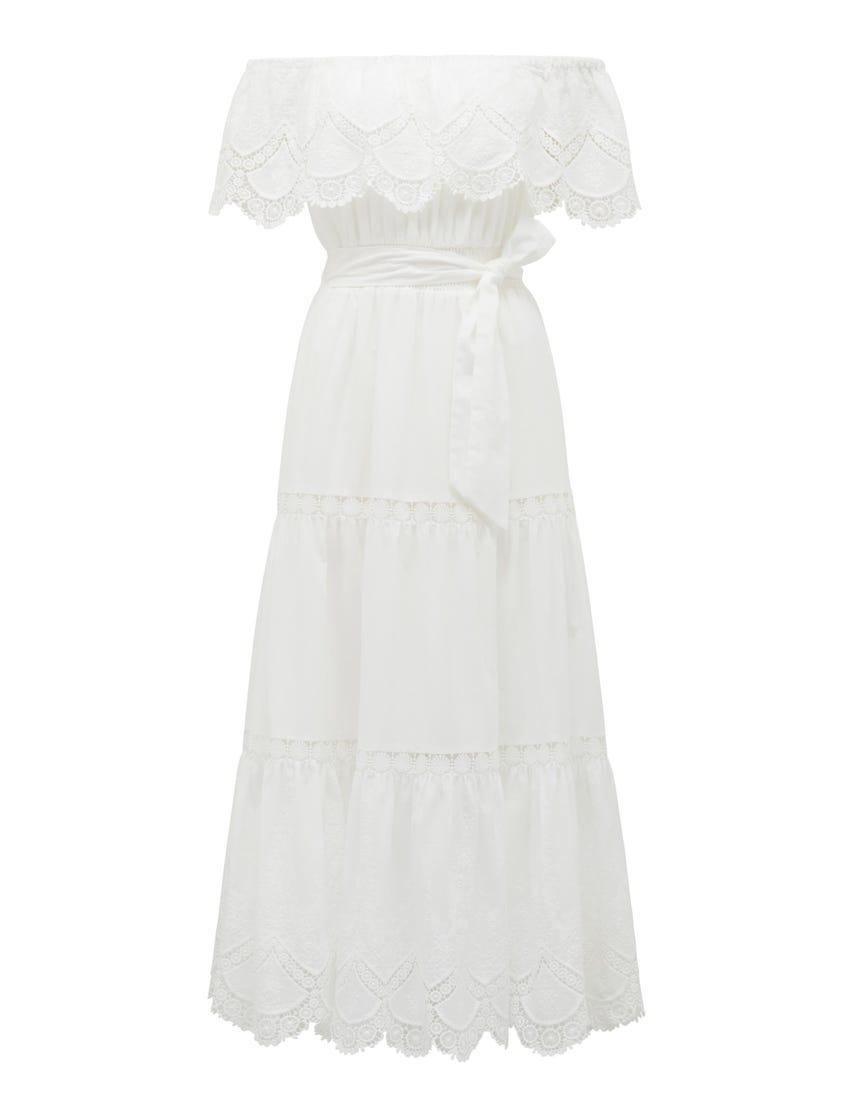 Phoebe Shirred Maxi Dress