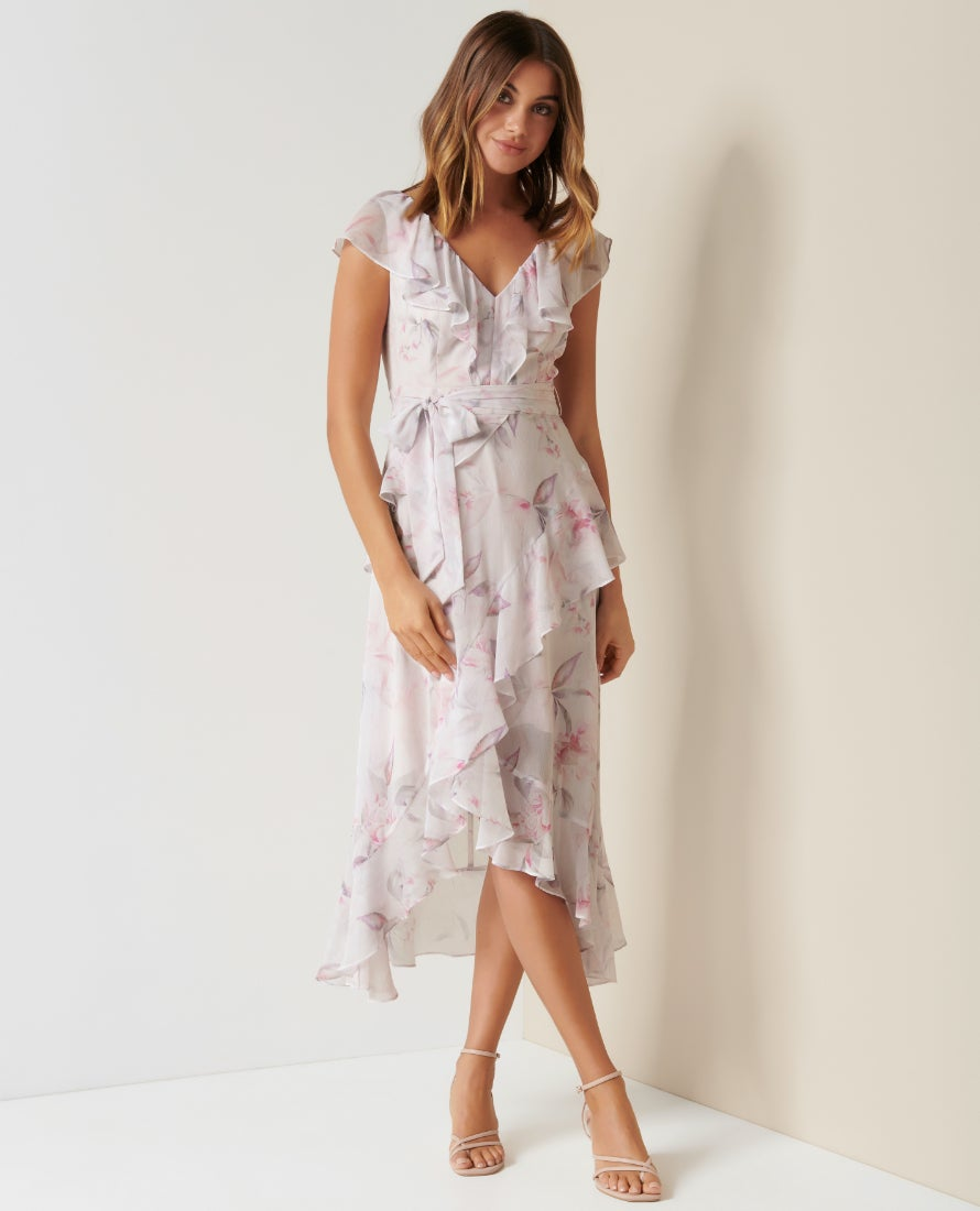 Ever New floral dress