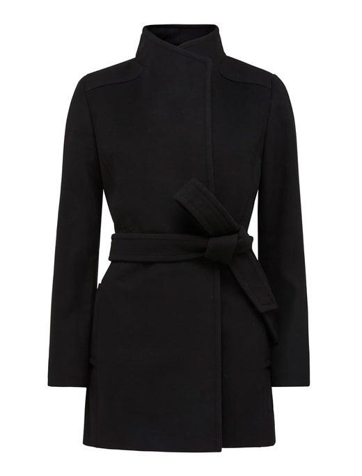 Viola Short Wrap Coat