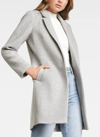 Adele Petite Edge to Edge Coat
