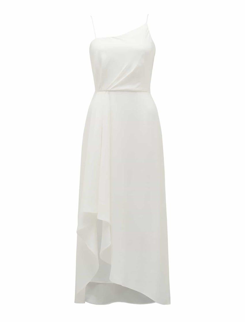 Danielle Strappy Ruffle Maxi Gown