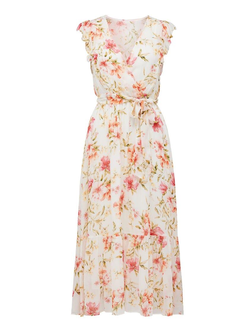 Daphne Tiered Midi Dress